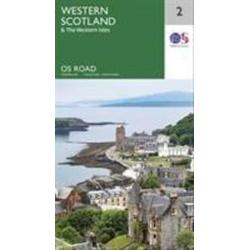 Western Scotland & the Western Isles 1:250 000