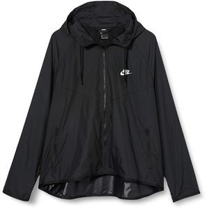 Nike Damen Sportswear Windrunner Jacke, Black/Black/White, XS