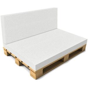 neu.haus Sitzkissen, Schaumstoff 40x120x8cm Rückenpolster Palettenkissen Auflage Polster 40 cm x 120 cm x 8 cm