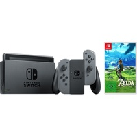 Nintendo Switch grau + The Legend of Zelda: Breath of the Wild
