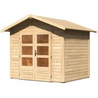 Woodfeeling Talkau 3 2,40 x 2,00 m natur