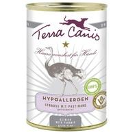 Terra Canis Hypoallergen Strauß mit Pastinake 400 g
