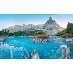Komar Vliestapete Alpine Treasure, glatt, naturalistisch