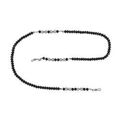 Apollo Kettchen Schwarze Kristallperlen BR3543 1 Stück unisex | 0,00 | 0,00 | 0,00