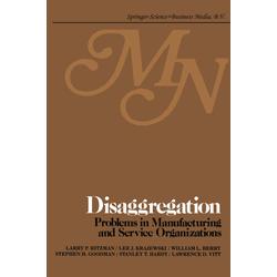 Disaggregation als Buch von