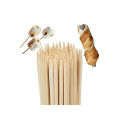relaxdays Grillspieß Grillspieße aus Bambus extra lang