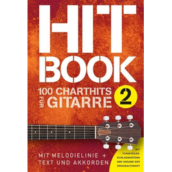 Hitbook 2 - 100 Chart Hits für Gitarre