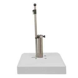 LiRo Alu-Vario 65-S Mobiler Schirmständer - Klemmung flex. 25-53mm Weiß