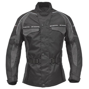 Roleff Racewear Motorradjacke Reno RO 70i, Schwarz/Grau, Größe XL