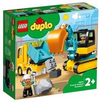 Lego Duplo Bagger und Laster