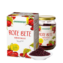 ROTE BETE KRISTALLE
