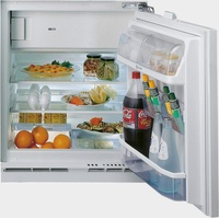 Bauknecht KSU 8GF2 Kühlschrank mit Gefrierfach Integriert 126 l E Weiß