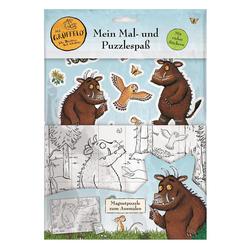 Der Grüffelo: Mein Mal- und Puzzlespaß: Buch von Panini