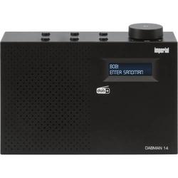 DABMAN 14 DAB+/UKW Radio mit Weckfunktion und Sleeptimer
