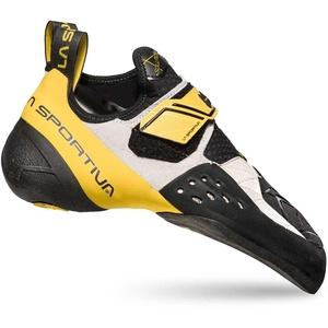 La Sportiva Solution Kletterschuhe EU 43 Solution White / Yellow