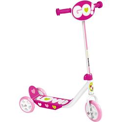 Tretroller 3 Räder - Skids Control, pink