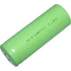 Mexcel -F14000 Spezial-Akku 3/2 D hochstromfähig, Flat-Top NiMH 1.2V 14000 mAh