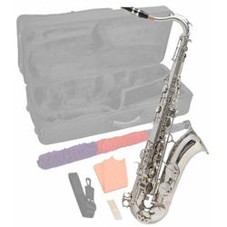 Steinbach Saxophon Steinbach Bb Tenorsaxophon Silber mit hohem FIS inkl. Koffer