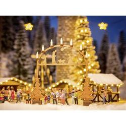 NOCH 0014681 N Weihnachtsmarkt-Eingangsbogen
