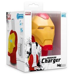 BigBen BigBen Marvel Iron Man Design Ladegerät + Akku Docking Lader für Nintendo Wii Controller Wiimote Wii-Controller (Set, 1 St)
