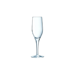 Chef & Sommelier Sektglas Sensation Exalt, Krysta Kristallglas, Sektkelch Sektglas 190ml Krysta Kristallglas transparent 6 Stück Ø 7 cm x 21 cm