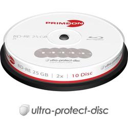 Primeon 2761314 Blu-ray BD-RE Rohling 25GB 10 St. Spindel Antikratzbeschichtung
