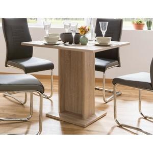 Säulentisch Chlodwig Eiche Sonoma 80x80 cm Esszimmertisch Esstisch Küchentisch