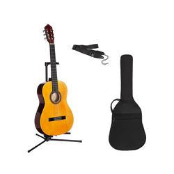 Konzertgitarre Konzertgitarren-Set 7/8 7/8 natur