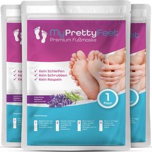 MyPrettyFeet – Premium Fußmaske zur effektiven Hornhaut Entfernung (3 Paar)