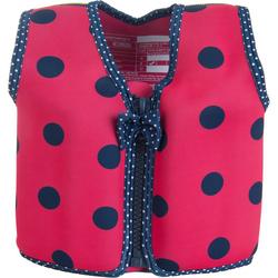 Konfidence Jacket Kinder Schwimmweste Schwimmhilfe Neopren Pink Navy Ladybird 4 - 5 Jahre