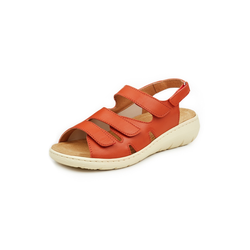 Avena Damen Hallux-Sandale Perfect Fit Orange 36, 37, 38, 39, 40, 41, 42