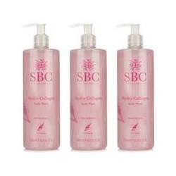 SBC Duschgel-Trio feuchtigkeit- spendend je 500ml
