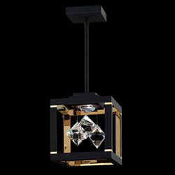 Swarovski Fyra LED Kristall-Hängelampe in Weiß mit klaren Kristallen