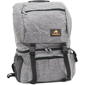 CampFeuer 20 Liter Rucksack mit Kühlfach  grau leicht und wasserdicht
