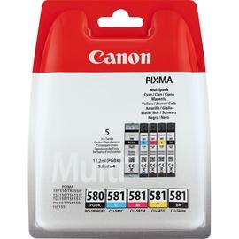 Canon PGI-580 schwarz + CLI-581 CMYK
