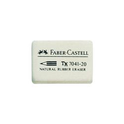 Faber Castell Radiergummi 40 x 27 x 13mm 7041 20 weiß