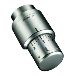 "Oventrop Thermostat ""Uni SH"", Edelstahl-Design"