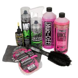 Muc-Off Fahrrad-Reinigungs-Kit Familie Set, 9-teilig
