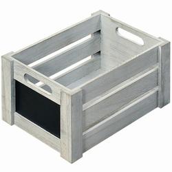 Kesper Aufbewahrungsbox, Aus Paulowniaholz, Maße: 26 x 16,5 x 13,5 cm