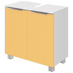 HELD MÖBEL Waschbeckenunterschrank Matera Breite 60 cm, mit hochwertigen matten MDF-Fronten gelb