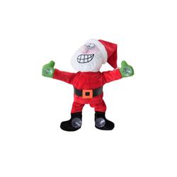 lux.pro Weihnachtsmann, Nikolaus am Fenster tanzend Weihnachtsdeko