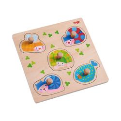 Haba Steckpuzzle Greifpuzzle Bunte Tiere, Puzzleteile