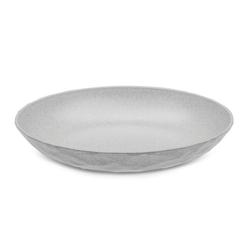 KOZIOL Teller Club Tief Organic Grey 22 cm