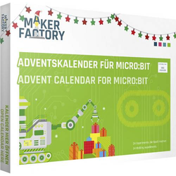 MAKERFACTORY Adventskalender für micro:bit Adventskalender ab 14 Jahre