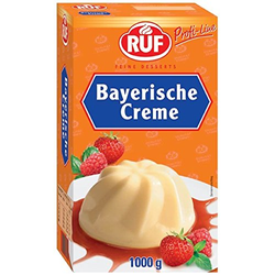 RUF Bayerische Creme ohne Kochen einfach schnell zubereitet  1000g