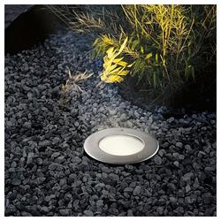 s.LUCE LED Gartenleuchte Level Edelstahl rund IP67