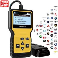 VOLKSDIAGNOSE Gerät OBD2 Scanner Brotos® V310 - Universal Kabel Automotor Fehler-Code Scanner