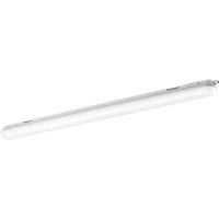 """Müller-Licht Müller Licht 28-W-LED-Feuchtraumwannenleuchte mit Bewegungs- und Dämmerungssensor, Plastik, 28 W, grau, 120 x 7.6 x 6.7 cm"""""""