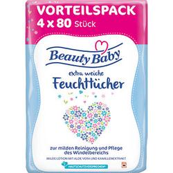 Beauty Baby Feuchttücher   320 Tücher