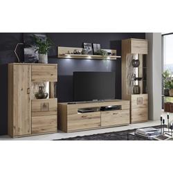 Ideal-Möbel Wohnwand Kansas in braun